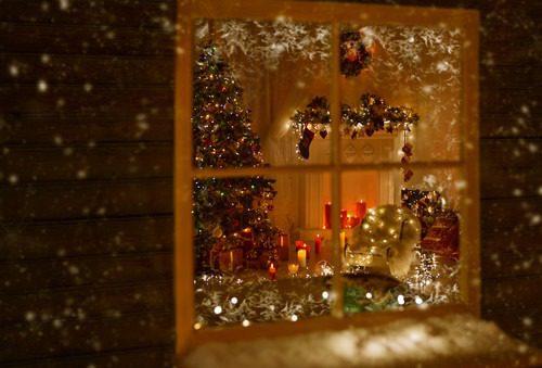 Christmas Windows and Doors