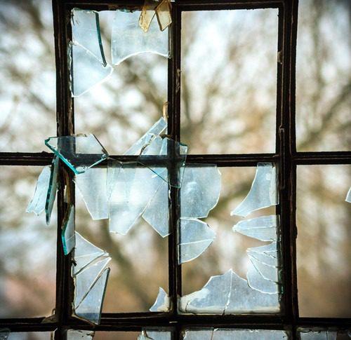 broken houston window