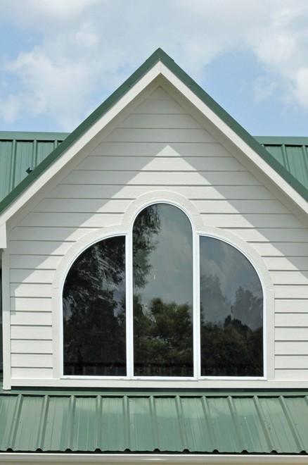 geometric shape windows
