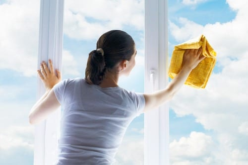 Spring cleaning and window maintenance