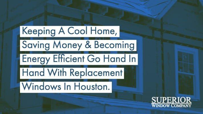 Energy Efficient Replacement Window