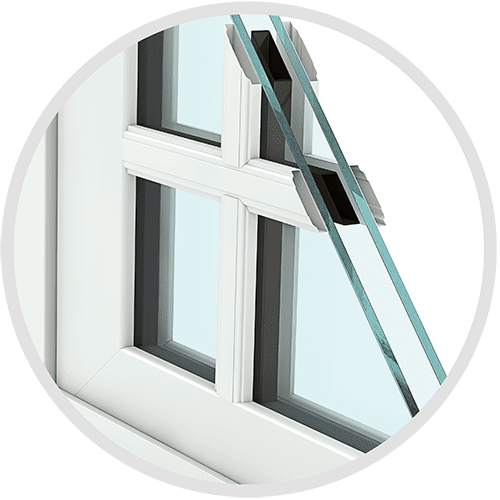 Corner SDL grid Replacement Window Feature