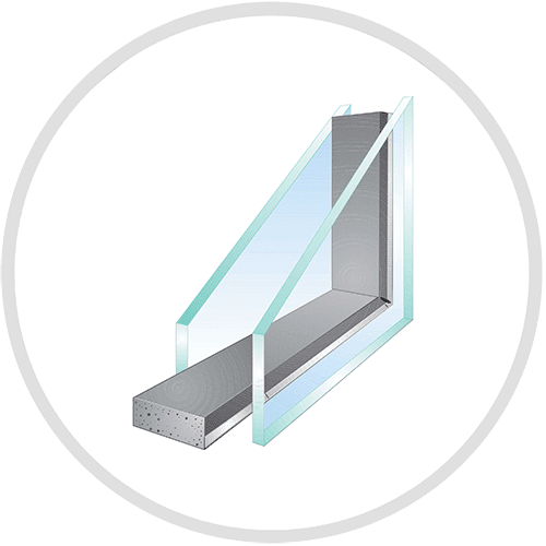 Dual-Pane with Super-Spacer for Replacement Windows
