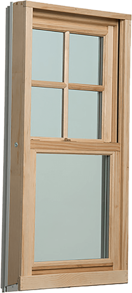 Wood Clad Replacement Window Diagram